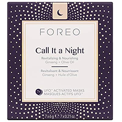UFO-Activated Nourishing and Revitalizing Facial Treatment Face Mask