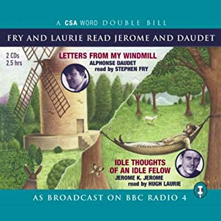 Fry and Laurie Read Daudet and Jerome audiobook cover art