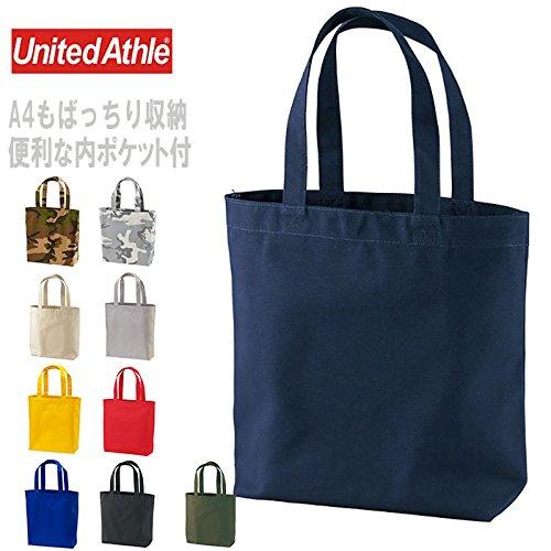 UnitedAthle(ユナイテッドアスレ)14.3オンス1508-01トートバッグ(中)(ポケット付)キャンバスデイパックバッグトートバッグ104.ウッドランド