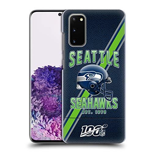 Head Case Designs Offizielle NFL Football Streifen 100ste 2019/20 Seattle Seahawks Harte Rueckseiten Handyhülle Hülle Huelle kompatibel mit Samsung Galaxy S20 / S20 5G