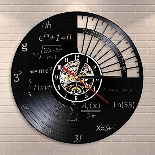 Reloj de pared con logo de raqueta de tenis, para decoración de pelota de tenis, torneo, partido de tenis, Grand Slam, disco de vinilo, reloj de pared, regalo para jugadores de tenis