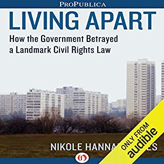 Living Apart audiobook cover art