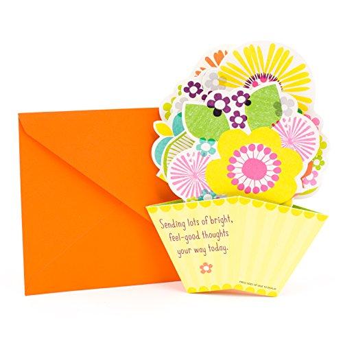 Hallmark Get Well Greeting Card (Pop-Up Flowers)