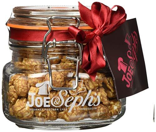 Joe & Seph's Popcorn Karamell mit belgischer Schokolade im Glas, 1er Pack (1 x 80 g)