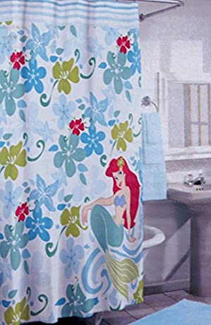 Disney Ariel little mermaid shower curtain