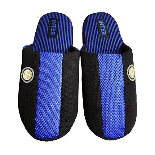 F.C. Inter Pantofole in Cotone Uomo/Bambino - Ufficiali Internazionale (41/42)