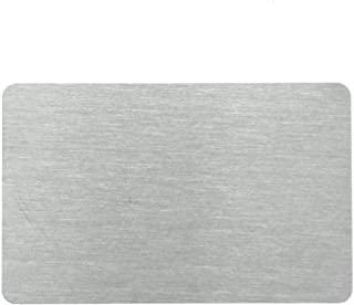Best aluminum business card blanks Reviews