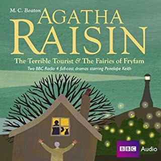 Agatha Raisin: The Terrible Tourist and Fairies of Frylam (Dramatisation) audiobook cover art