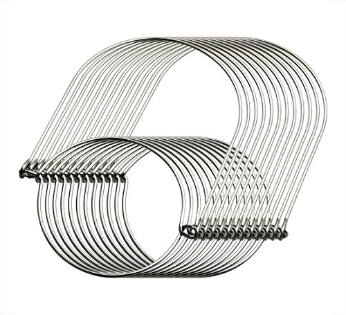 MiMoo 12 pack stainless steel wire handles