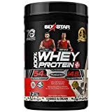 Whey Protein Powder | Six Star Whey Protein Plus | Whey Protein Isolate & Peptides | Lean Protein Powder for Muscle Gain | Muscle Builder for Men & Women | Cookies and Cream, 2 lbs (package varies)