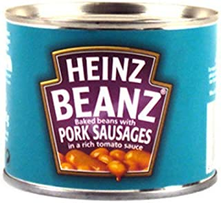Heinz Baked Beans and Pork Sausages 200g by Heinz