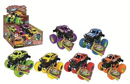 DYNIT KIDS-DIM01820P Beast Cars 4WD, Colore Assortito, 5065712