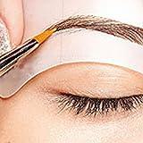 uniqueaur - Pochoirs à sourcils professionnels - 24Styles différents de sourcils pour se maquiller soi-même, 1