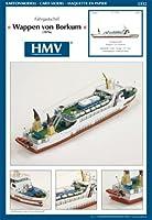 <カードモデル>1:250 客船ワッペン・フォン・ボルクム