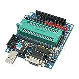 DIY de soldadura 51 MCU Microcontrolador Mini tablero del desarrollo de partes del juego