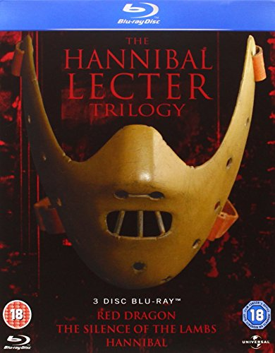 Hannibal Lecter Trilogy - Hannibal / Silence Of The Lambs / Red Dragon [BLU-RAY]