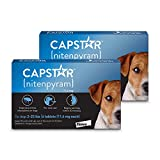 Capstar Flea Tablets for Dogs 2-25 lbs., Count of 12, 12 CT