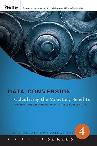 Data Conversion: Calculating the Monetary Benefits (Measurement and Evaluation, Band 4)