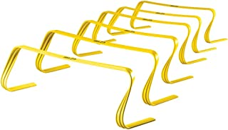 SKLZ 6-Inch Ultra Durable Agility Hurdles,  Set of 6