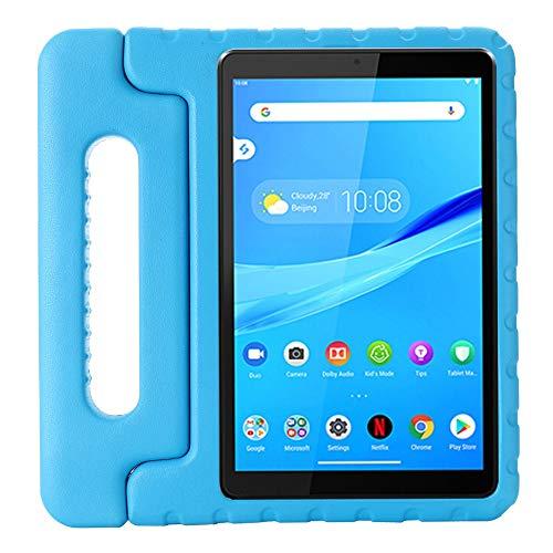 RZL Pad y Tab Fundas para Lenovo Tab M8 FHD TB-8705F TB-8705F, Caja de tabletas para niños Tapa de Stand de EVA a Prueba de Golpes para Lenovo Tab M8 B-8505F TB-8505X TB-8505I (Color : Blue)