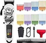 Surker Cortapelos Para Hombres Kit De Aseo Profesional Para Recortar La Barba Sin Cable Profesional