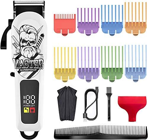 Surker Cortapelos Para Hombres Kit De Aseo Profesional Para Recortar La Barba...