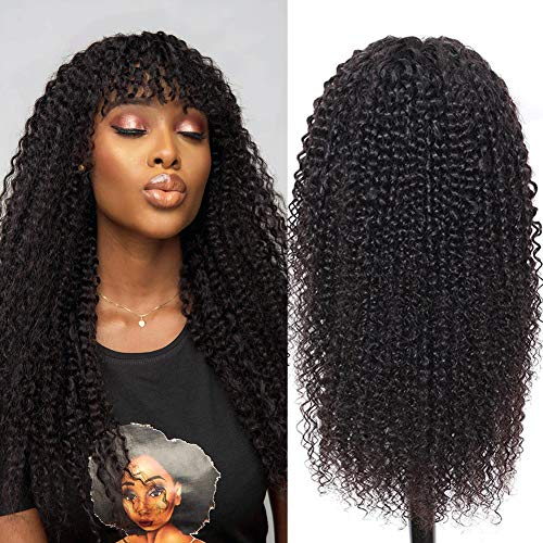 straight bob wig human hair wigs yaki straight wigs kinky straight hair wigs (60.5 Cm, kinky curly wig no lace)