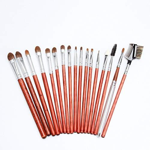 LNLW Lot de 22pcs éponge cosmétiques Ombre à paupières Eyeliner Sourcils Lèvres Nez Fond de Teint Poudre pinceaux de maquillage Ensembles