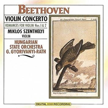 Beethoven - Violin Concerto: Romances For Violin No. 1 & 2