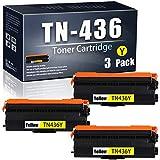 WedInk WE-Yellow-TN-436/TN436Y-3 Pack