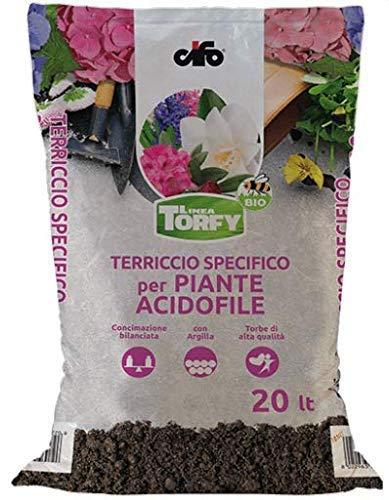 CIFO Terriccio specifico per Piante acidofile Torfy Bio 45 lt