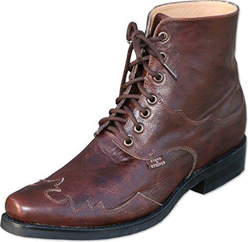 STARS & STRIPES Western-Boots »Henderson« Cowboy Country Braun (44)