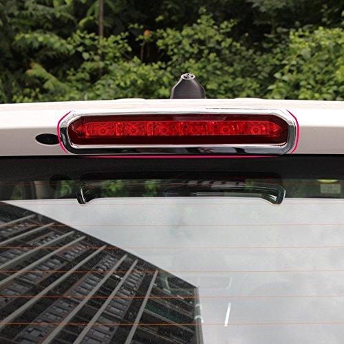 Chrom Styling Außen Auto hinten High Bremslichter Dekoration fit für Opel Vauxhall Mokka Buick Encore 2013–2015