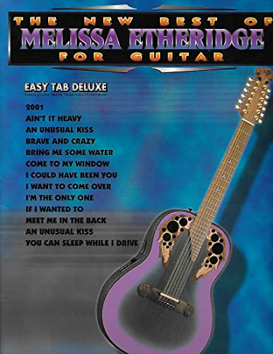 The New Best of Melissa Etheridge for Guitar: Guitar Personality Book