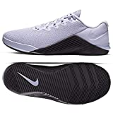 Nike Metcon 5 Women's Training Shoee Lavender Mist/Oil Grey-Pale Ivory 10.0