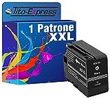 Tito-Express PlatinumSerie - 1 cartucho XXL compatible con HP 932 XL negro, adecuado para HP OfficeJet 6700 Premium 7510 7612 7610 7110 WF 6600 7600 Series 6100 E 6600