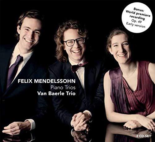 VAN BAERLE TRIO - MENDELSSOHN: PIANO TRIOS (2 CD)