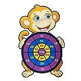 Heshan Diana para niños lanzando dardos bola pegajosa | lindo juego de tablero de dardos seguro de dibujos animados | juegos de fiesta para interiores y exteriores para niños