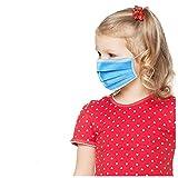 50 Piezas Niños 𝐌𝐚𝐬𝐜𝐚𝐫𝐢𝐥𝐥𝐚𝐬 Desechables, Impresión de dibujos animados lindo Suave Transpirable Protección personal diaria Transpirables A Prueba de Polvo con Elástico para Los Oídos