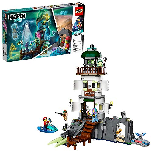 LEGO Hidden Side The Lighthouse of Darkness 70431 Ghost Toy, Unique Augmented Reality Experience for Kids, New 2020 (540 Pieces)
