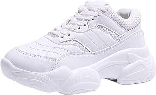 BeiaMina Women Fashion Walk Shoes Lace Up Sports Shoes