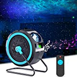 Star Projector, HOTEKME Galaxy Projector with 7 Colors Nebula, Bulit-in Music Speaker,...
