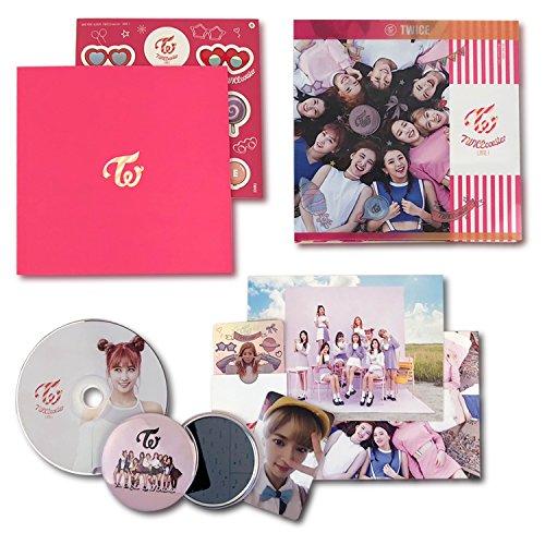 TWICE 3rd Mini Album - TWICECOASTER : LANE 1 [ NEON MAGENTA Ver. ] CD + Photobook + Photocards + Sticker + FREE GIFT / K-pop Sealed