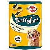 Pedigree Tasty Mini Snacks para Perros sabor Queso y Buey (Pack 6 x 140g)