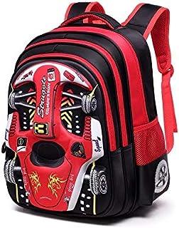 Children Racing Schoolbag Three Dimensional Waterproof Schoolbag Boys And Girls Lovely Cartoon Backpack