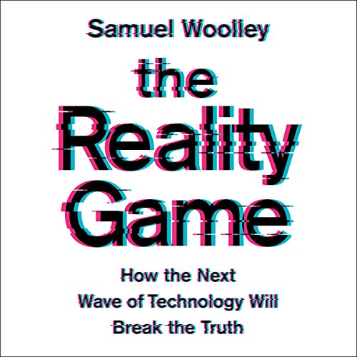 The Reality Game audiobook cover art