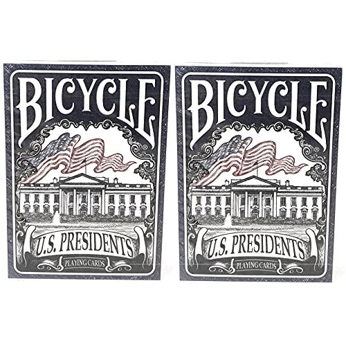 Bicycle 2 Decks US Presidents Playi…