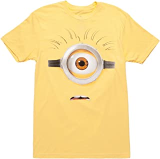 Minions Yellow Face Adult T-Shirt