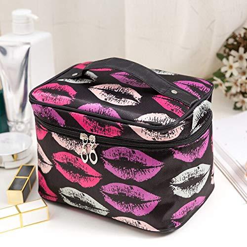 YOLK Bolsa de viaje grande para cosméticos de gran capacidad, bolsa de almacenamiento, impermeable, bolsa de aseo organizador de maquillaje