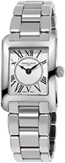 Frederique Constant Classics Carree Silver Dial Stainless Steel Ladies Watch FC-200MC16B
